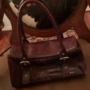 Burgundy Kenneth Cole Shoulder Bag